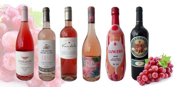 Kvalitné vína z rôznych kútov sveta
