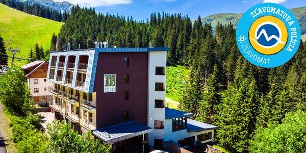 Luxusné leto vo Wellness & Boutique Hoteli FIS Jasná**** na úpätí Nízkych Tatier