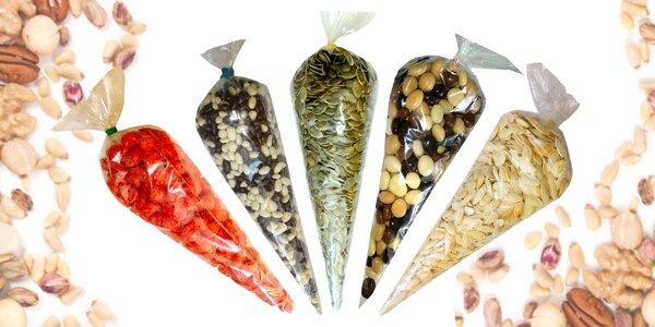 Pre mlsné jazýčky: zmesi s ovocím, semienkami a orechmi