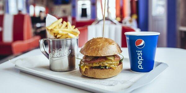 Vynikajúci americký Steakburger v Retro Carburger-i!