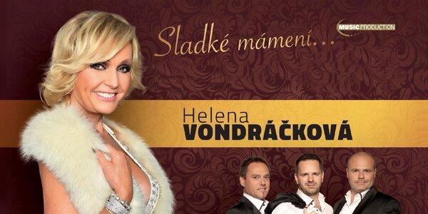 Vstupenka na koncert Heleny Vondráčkovej