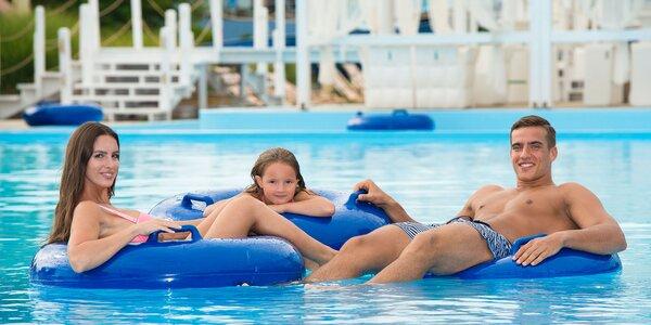 Leto plné zážitkov v Aquaparku Senec