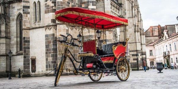 Objavujte Košice netradične - z rikše!