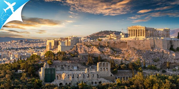 Letecký 5-dňový poznávací zájazd do Atén