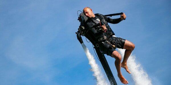 Prvý JET PACK na Slovensku a Flyboard! Užite si leto s vodným adrenalínom!