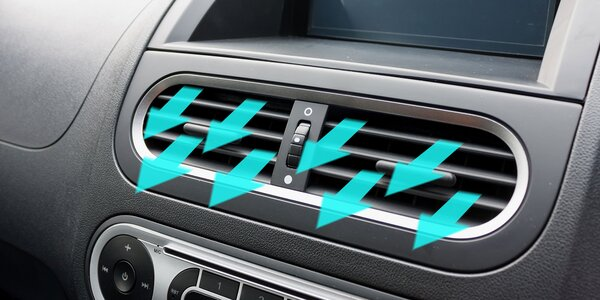Čistenie a dezinfekcia klimatizácie a interiéru auta ozónom a diagnostika