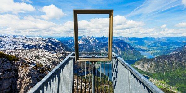 Za krásami rakúskych Álp - Dachstein, Hallstatt a vyhliadka Päť prsto