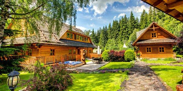 Pobyt v zrube pre 2-4 osoby v Tatrách so vstupom do wellness Grand hotela Permon****