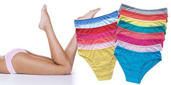Bavlnené nohavičky: klasické alebo s čipkou