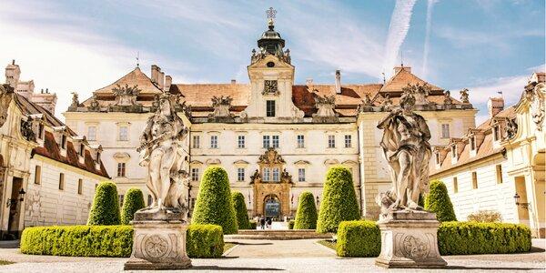 Návšteva zámku Valtice a Svätomartinského Mikulova