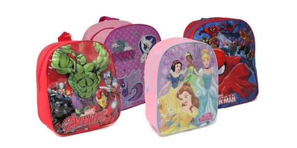 Detské väčšie batôžky s animovanými hrdinami!