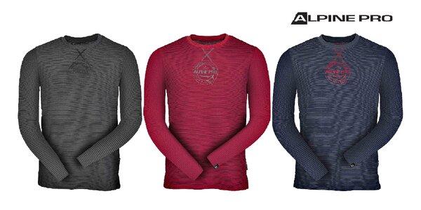 Pánske tričko, dlhý rukáv: Alpine Pro Perkos!