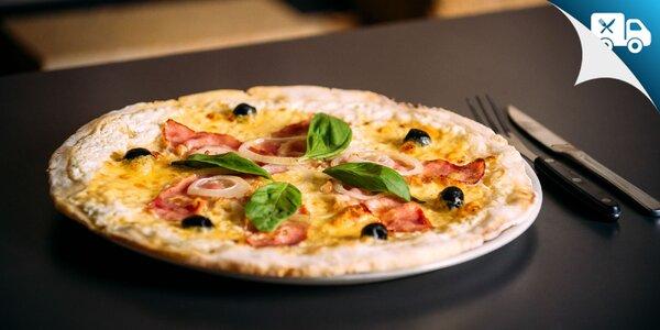 Celozrnná alebo bezlepková pizza. Aj rozvoz!