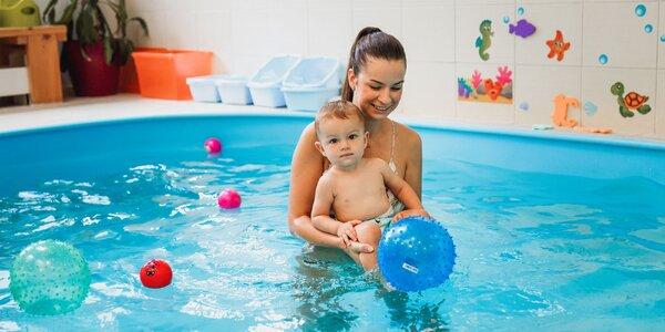 Kurz plávania pre detičky od 4 mesiacov