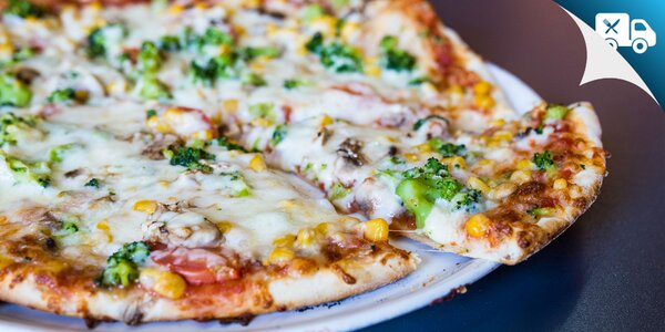 Pizza s talianskou receptúrou. Aj donáška!