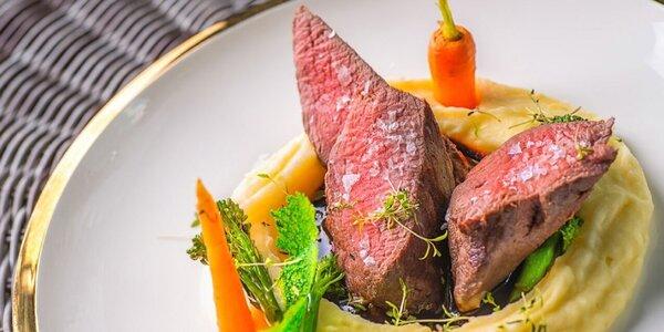 Prémiové menu v Reštaurácií Magdaleny Zai v Chateau GrandCastle****