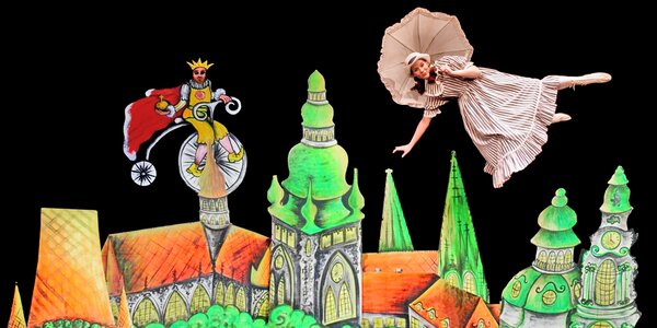 Čierne divadlo na motív Alica v krajine zázrakov