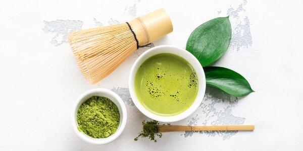 Matcha zelený čaj, tradičný samurajský nápoj!