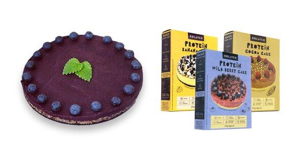 Kolatch - sypká zmes na prípravu rôznych druhov nepečených koláčov s pridaným proteínom.