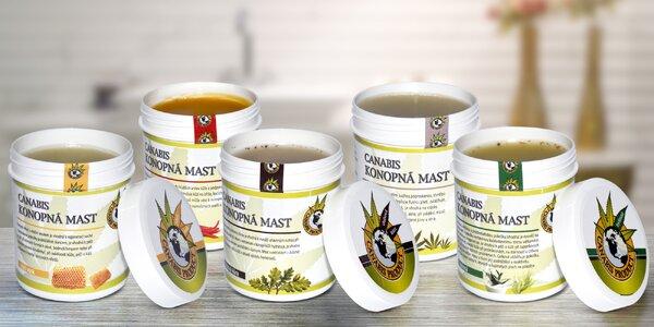 Objavte silu konope: české bylinné masti