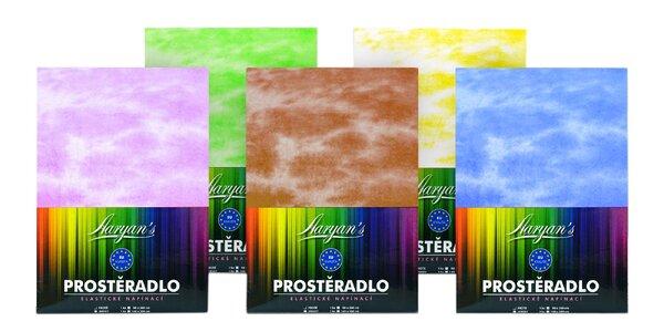 Oblečte posteľ do veselých farieb: batikované plachty zo 100 % bavlny