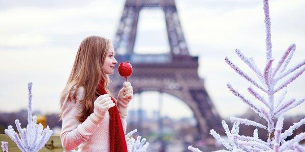 Magický čas strávený na vianočných trhoch v Paríži