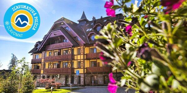 Exkluzívna dovolenka v Hoteli Kukučka**** v Tatranskej Lomnici