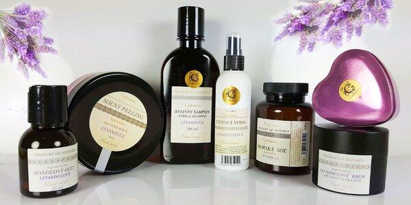 Sada prírodnej levanduľovej kozmetiky Cyprianus