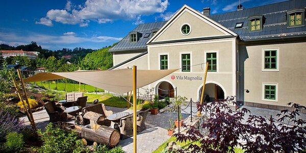 Luxusná Vila Magnolia s privátnym wellness v Banskej Štiavnici