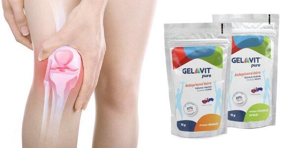 Intenzívna výživová kolagénová kúra Gelavit Pure
