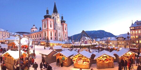 Kúzlo adventu v čarovnom alpskom mestečku Mariazell