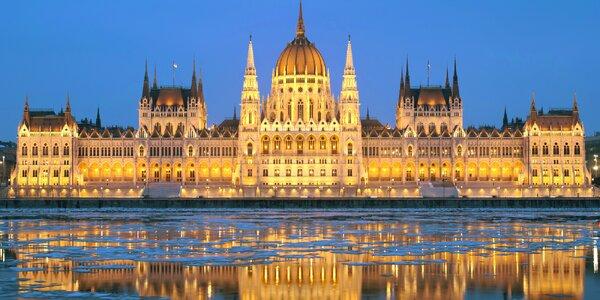 Výlet do Budapešti - prehliadka parlamentu a vianočné trhy