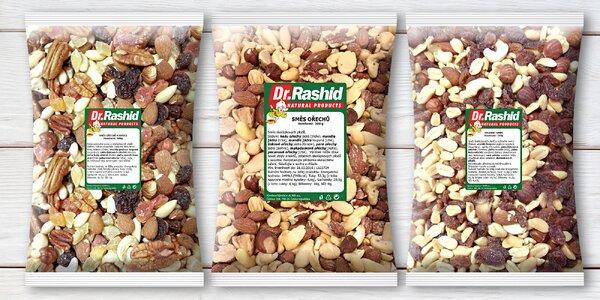 Zachrumkajte pre zdravie: 500 g zmes orechov a ovocia