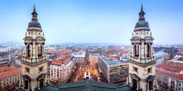 Zájazd za neopakovateľnou vianočnou atmosférou do Budapešti
