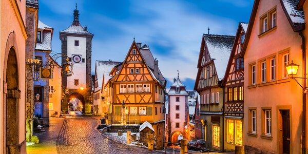 Zájazd za skrytými klenotmi Bavorska počas adventu