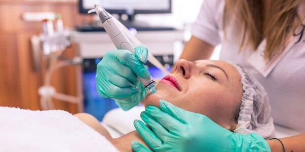 HYDRAFACIAL – ošetrenie tváre peptidmi a Led terapia