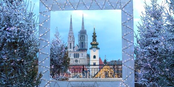 Netradične strávený advent v Záhrebe