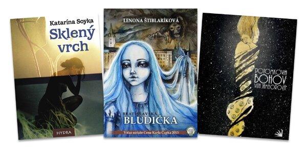 Pútavé strhujúce fantasy slovenských autorov!