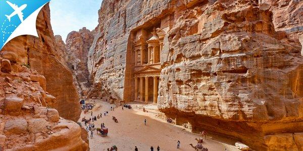 Letecký zájazd za legendárnym Jordánskym kráľovstvom