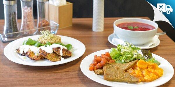 Denné obedové menu - aj vegánske i bezlepkové s rozvozom