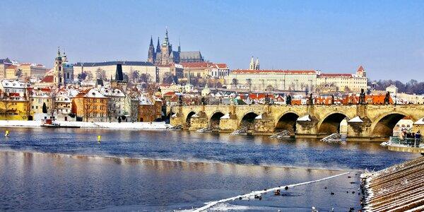 Pobyt v centre Prahy v plne vybavených apartmánoch