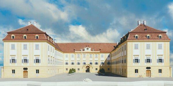 Advent na zámku Schloß Hof, čokoládovňa a nákupy v Parndorfe
