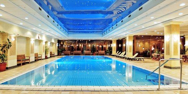 Relaxačný wellness pobyt v luxusnom hoteli v centre Budapešti s polpenziou