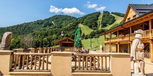 Pobyt v horskom prostredí s novým wellness*** pod vrchom Kľak