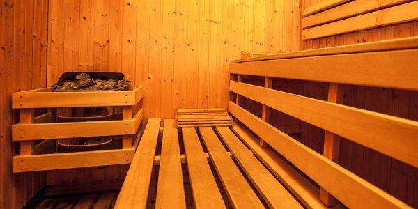Privátna fínska sauna otvorená nonstop