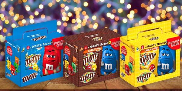 Darčekové balenie cukríkov M&M 's s hrnčekom