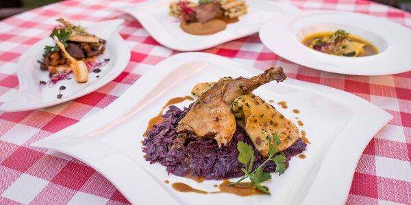 2-chodové degustačné kačacie či husacie menu!