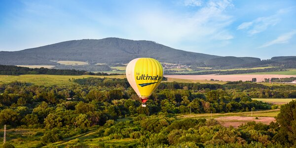 Vyhliadkový let balónom ponad Poprad a okolie