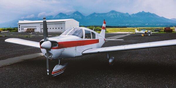 Vyhliadkové lety pre 2 osoby v PP alebo KE