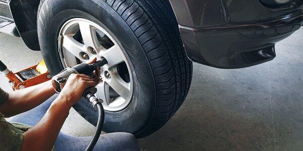 Prehodenie kolies alebo prezutie pneumatík